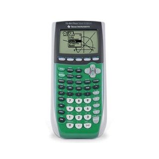 Texas Instruments TI 84 Plus Silver Edition Graphing Calculator (Lime Green)  Graphing Office Calculators  Electronics