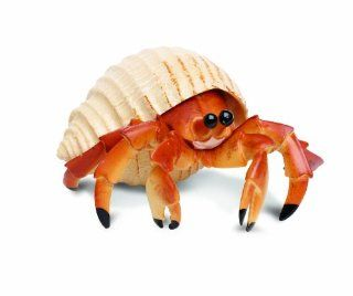 Safari Ltd  Incredible Creatures Hermit Crab: Toys & Games