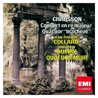 CHAUSSON: CONCERT OP.21; STRING QUARTET OP.35ltd.): Music