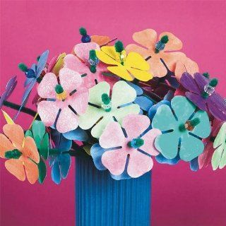 Watercolor Flowers Craft Kit (Makes 300): Toys & Games