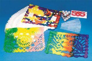 Mexican Banderos Craft Kit (Makes 72): Toys & Games