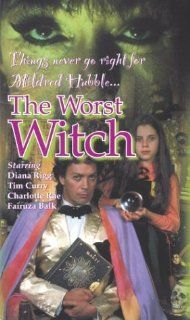 The Worst Witch (The Movie) [VHS]: Diana Rigg, Charlotte Rae, Tim Curry, Fairuza Balk, Sabina Franklyn, Su Elliot, Danielle Batchelor, Anna Kipling, Leila Marr, Liz May Brice, Katrina Heath, Tara Stevenson, Ian Hollands, Robert Young, Andrew Denny, Colin S
