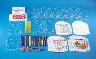 Pinball Machine Craft Kit (makes 12): Toys & Games