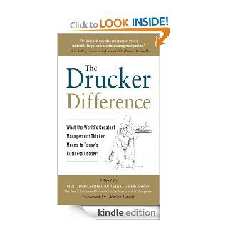 The Drucker Difference: What the World's Greatest Management Thinker Means to Today's Business Leaders   Kindle edition by Craig L. Pearce, Joseph A. Maciariello, Hideki Yamawaki. Business & Money Kindle eBooks @ .