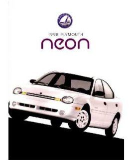 1998 Plymouth Neon Sales Brochure Literature Book Advertisement Options Specs Automotive