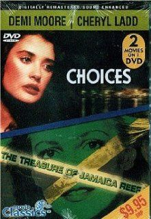[DVD] Double Feature   Demi Moore in Choices + Cheryl Ladd in the Treasure of Jamaica Reef Movies & TV