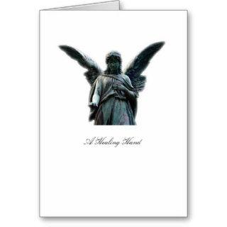 A Healing Hand Angel   Greeting Card