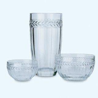 Villeroy & Boch Miss Desiree 8 1/2 Inch Crystal Bowl: Kitchen & Dining