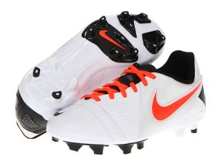 Nike Kids Jr Ctr360 Libretto III FG (Toddler/Little Kid/Big Kid)  White/Black/Total Crimson
