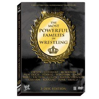 WWE The Most Powerful Families in Wrestling DVD : Sports Fan Apparel : Sports & Outdoors