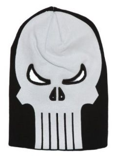 The Punisher Skull Bank Robber Knit Ski Mask Costume Hat: Movie And Tv Fan Apparel Accessories: Clothing