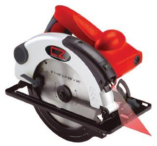 Construction Zone 40702 Circular Saw with Laser 7 1/4 inch   Power Circular Saws