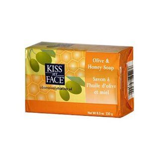 Kiss My Face Bar Soap Olive & Honey 8 oz : Bath Soaps : Beauty