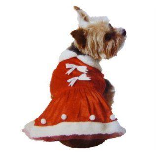 Holiday Time Dog Mrs Santa Suit Christmas Pet Mrs Santa Claus Dress  Mrs Claus Dog Costume Xx Small