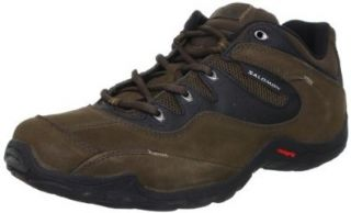 Salomon Men's Elios 2 Lite Hiking Shoe,Asphalt/Black/Flea,7 M US: Shoes
