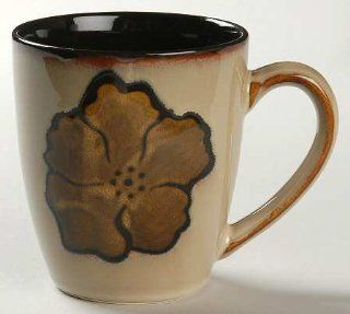Pfaltzgraff Painted Poppies Mug, Fine China Dinnerware