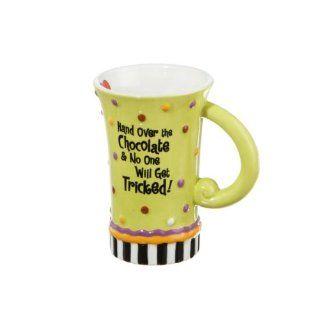 Suzy Toronto Hand Over the Chocolate Halloween Mug Coffee Mug Kitchen & Dining