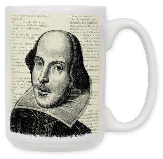 Shakespeare 15 Oz. Ceramic Coffee Mug Kitchen & Dining