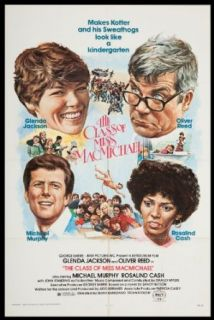 "The Class of Miss Macmichael 1979 ORIGINAL MOVIE POSTER Comedy Drama   Dimensions: 27"" x 41"": Glenda Jackson, Michael Murphy, Oliver Reed: Entertainment Collectibles"