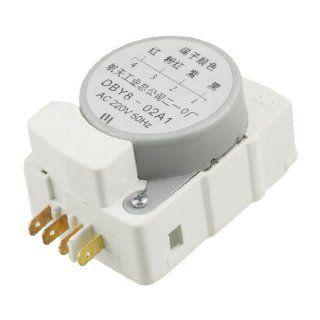 AC 220V 50Hz DBY8 02A1 4 Terminals Refrigerator Defrost Timer Appliances