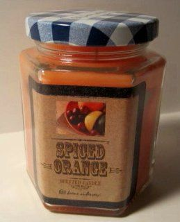 Home Interiors, Spiced Orange Scented Jar Candle, 7.5 Oz