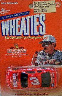 The Winston Select Dale Earnhardt #3 1997 Monte Carlo Wheaties Limited Edition 1:64 Scale Stock Car: Toys & Games