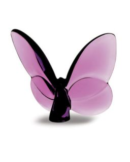 Lucky Butterfly, Parma Violet   Baccarat