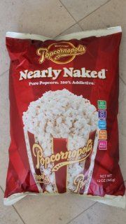 Popcornopolis Nearly Naked 12 Oz Bag : Popcornopolis Popcorn : Grocery & Gourmet Food