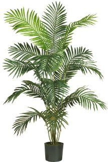 Nearly Natural 5260 Paradise Artificial Palm Tree, 6 Feet, Green   Artificial Plants