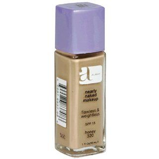 Almay Nearly Naked Makeup with SPF 15, Honey 320, 1 Ounce Bottles (Pack of 2) : Foundation Makeup : Beauty