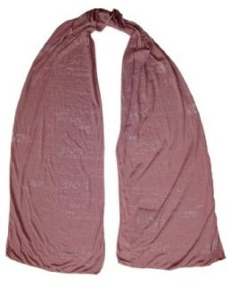 "Lyric Culture   ""All You Need Is Love"" Beatles Inspired Scarf in Mauve at  Men�s Clothing store"