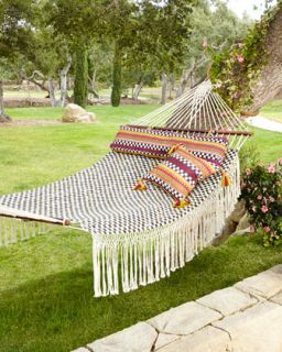 Courtly Check Hammock   MacKenzie Childs