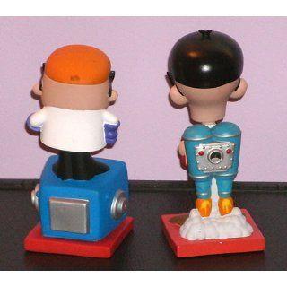 Funko   Dexter's Laboratory pack 2 Bobble Heads Dexter & Mandrak 16 cm Toys & Games