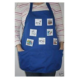 PECS Communication Apron with Velcro Front : Special Needs Educational Supplies : Office Products
