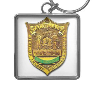 MAINE DEPT. OF INLAND FISHERIES AND WILDLIFE SEAL KEY CHAIN
