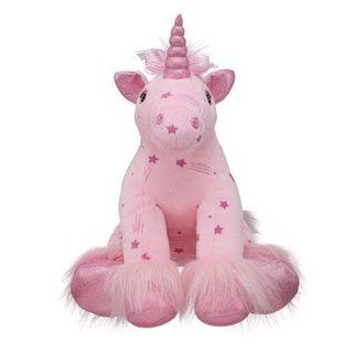 Build A Bear Workshop 15 in. Shooting Stars Unicorn Plush Stuffed Animal: Toys & Games