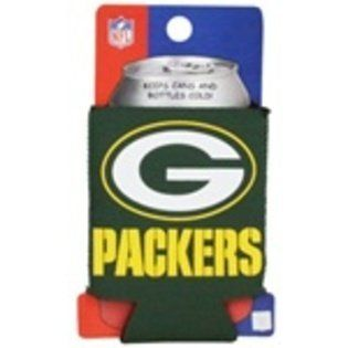 Greenbay Packers CAN KOOZIE drink cooler Great FOOTBALL FANS Gifts NFL