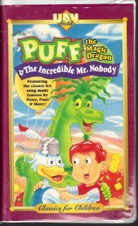 Puff & Incredible Mr. Nobody/Land of Living Lies [VHS]: Puff the Magic Dragon: Movies & TV