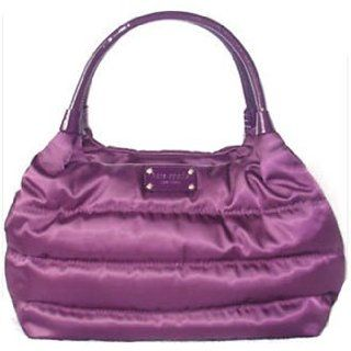 Kate Spade Alpine Hills Puff Stevie Bag Purse Tote Purple Lake Clothing