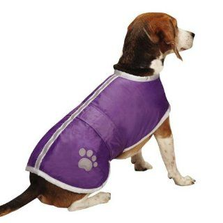 Zack & Zoey Nor'easter Jacket, Small, Ultra Violet  Pet Coats