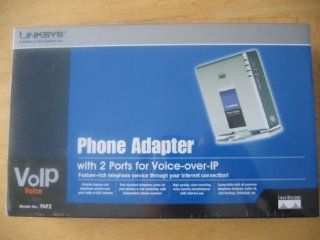 Linksys PAP2 NA VOIP Analog Telephone Adapter (Unlocked) : Voice Over Internet Protocol Telephones : Electronics