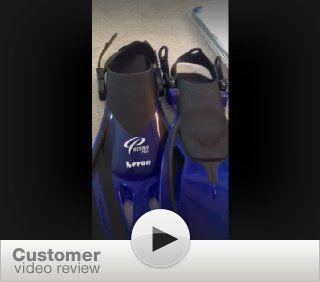 Joe's Squidz Rocket Swim Fins   Quality Open Heel Fin for Young Children (age : Sports & Outdoors