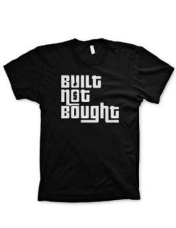 Built not Bought tshirt funny shirt jdm shirt Honda vw audi nissan: Clothing