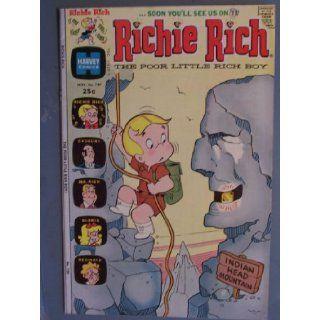 Richie Rich the Poor Little Rich Boy Comic Book (Journey to Nowhere, 129) Leon Harvey Books
