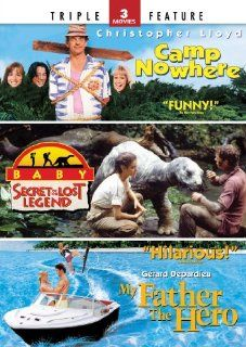 Camp Nowhere / Baby: Secret of the Lost Legend / My Father the Hero   Triple Feature: Sean Young, William Katt, Gerard Depardieu, Katherine Heigl Christopher Lloyd: Movies & TV