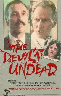 "The Devil's Undead (aka ""Nothing But The Night""): Christopher Lee, Peter Cushing, Diana Dors, Michael Gambon, Kathleen Byron, Georgia Brown, Keith Barron, John Blackburn, Peter Sasdy: Movies & TV"