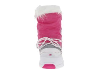 Dc Lodge Boot W White Fluorescent Pink