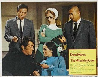 The Wrecking Crew Movie Poster (11 x 14 Inches   28cm x 36cm) (1969) Style N  (Dean Martin)(Sharon Tate)(Nigel Green)(Elke Sommer)(Nancy Kwan)(Tina Louise)   Prints