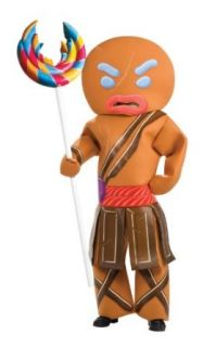 Shrek Child's Costume And Mask, Gingerbread Man Warrior Costume: Clothing
