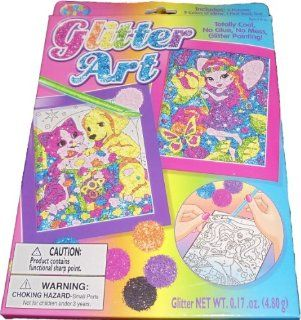 Lisa Frank Glitter Art Kit   Varied Designs